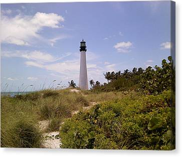 Cape Florida Canvas Print by Tiffney Heaning