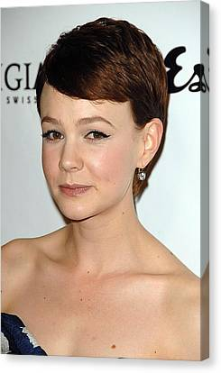 Carey Mulligan At Arrivals For An Canvas Print by Everett