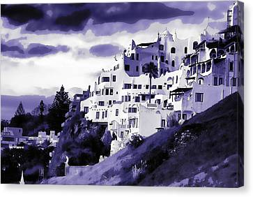 Casa Pueblo Canvas Print by David April