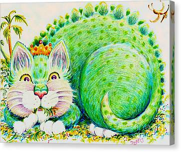 Catasaurus Rex Canvas Print