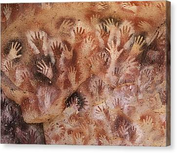 Cave Of The Hands, Argentina Canvas Print by Javier Truebamsf