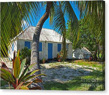 Cayman Islands Cottage Canvas Print by James Brooker