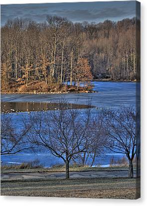 Centennial Lake Canvas Print by Stephen Younts
