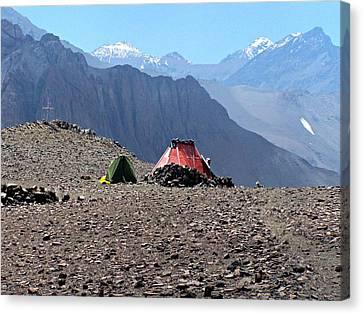 Cerro El Pintor Chile Canvas Print
