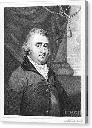 Charles Fox (1749-1806) Canvas Print by Granger