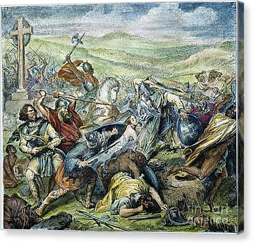 Charles Martel (c688-741) Canvas Print by Granger