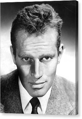 Charlton Heston, Ca 1954 Canvas Print