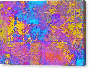 Chemiluminescence Canvas Print by Christopher Gaston