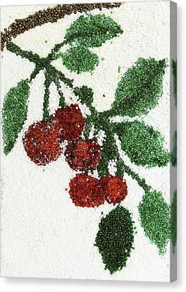 Cherry Canvas Print by Natalya A