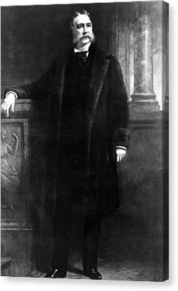 Chester Arthur, 21st President Canvas Print by Everett