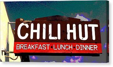 Chili Hut Canvas Print by Ron Regalado