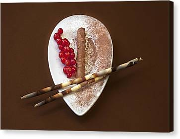 Chocolate Praline Canvas Print by Joana Kruse