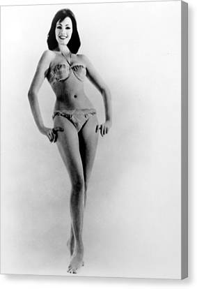 Christine Keeler, Early 1960s Canvas Print