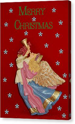 Christmas Angel Canvas Print by Aimee L Maher Photography and Art Visit ALMGallerydotcom