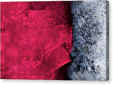 Christmas Frost Canvas Print by Christopher Gaston