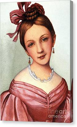 Clara Schumann (1819-1896) Canvas Print by Granger