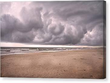 Coastal Storm Canvas Print by Betsy Knapp