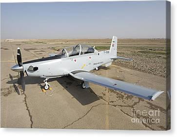 Cob Speicher, Tikrit, Iraq - A T-6 Canvas Print