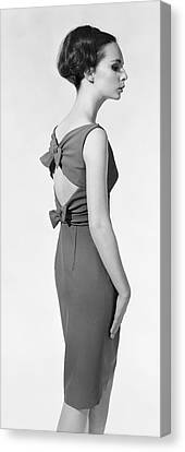 Cocktail Dress Canvas Print by Chaloner Woods