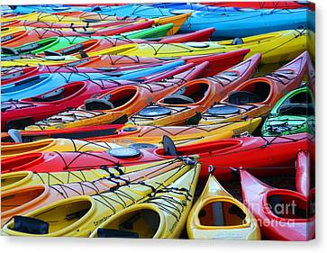 Color My World Canvas Print by Adrian LaRoque
