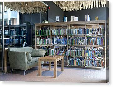 Community Office Library Canvas Print by Jaak Nilson