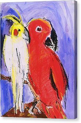 Companion Canvas Print by Iris Gill