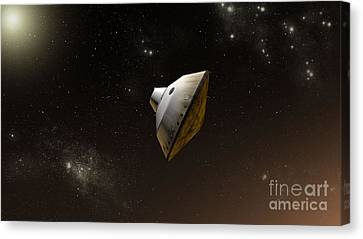 Concept Of Nasas Mars Science Canvas Print by Stocktrek Images