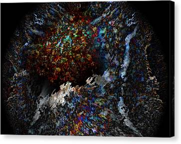 Conception Canvas Print by Christopher Gaston