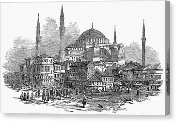 Constantinople: St. Sophia Canvas Print by Granger