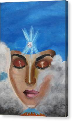 Contemplation Canvas Print by Diana Riukas