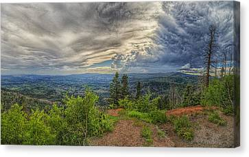 Converging Storms Canvas Print