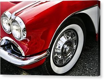 Corvette Beauty Canvas Print by Bill Robinson