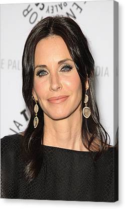 Courteney Cox In Attendance For Cougar Canvas Print by Everett