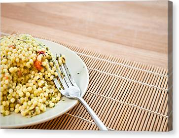 Cous Cous Salad Canvas Print by Tom Gowanlock