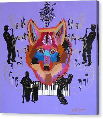 Coyote Harmony Canvas Print