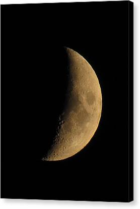 Canvas Print - Crescent Moon by Shane Brumfield