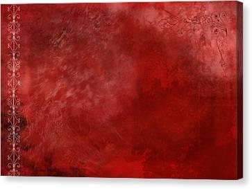 Crimson China Canvas Print by Christopher Gaston