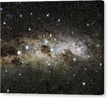 Crux Constellation Canvas Print by Eckhard Slawik