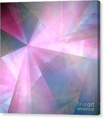 Cubist Background Canvas Print by Yali Shi
