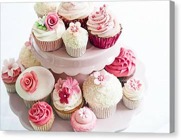 Cupcake Selection Canvas Print