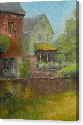 Cuttalossa Farm House Canvas Print by Kit Dalton