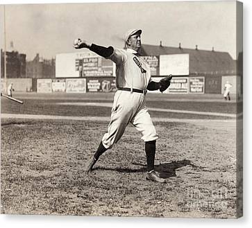 Cy Young (1867-1955) Canvas Print by Granger