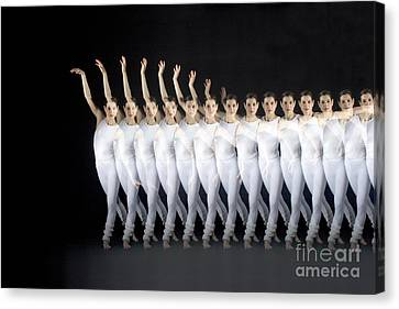 Dancer Canvas Print by Ted Kinsman