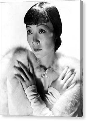 Dangerous To Know, Anna May Wong, 1938 Canvas Print by Everett