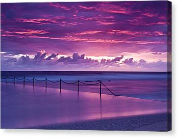 Dawn Fire Canvas Print by I Take Thee Photography