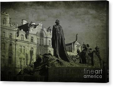 Death In Prague Canvas Print by Lee Dos Santos