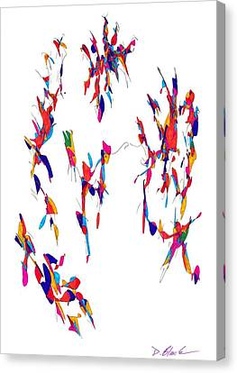 Definism Design 11 Canvas Print