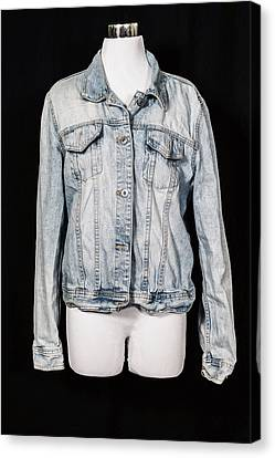 Denim Jacket Canvas Print by Joana Kruse