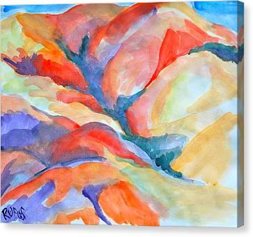 Desert Landscape Canvas Print by Rufus Norman