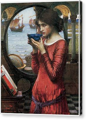 Destiny Canvas Print by John William Waterhouse